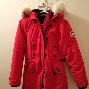 Canada Goose Women Parka Red Size XS